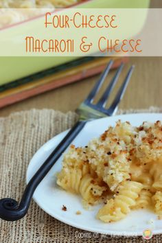 Four Cheese Mac & Cheese | Cooking on the Front Burner #mac-n-cheese #fourcheese #pasta