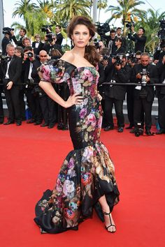 Bianca Balti in Dolce & Gabbana at the Lawless premiere.