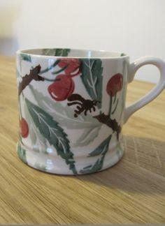 Emma Bridgewater Cherry & Bee Baby Mug made for Pineapple