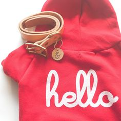 RED HOODIE BY HELLO APPAREL – Lucy & Co.
