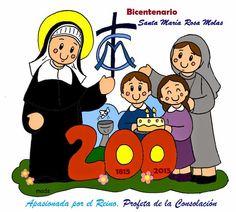 Mis ilustraciones: Bicentenario de Santa María Rosa Molas