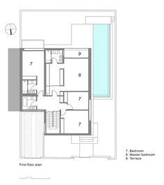 Villa Agava,1st Floor Plan