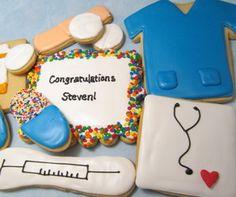 Nurse or doctor cookies - Mt Lookout Sweets