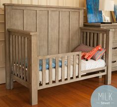 We go the extra mile in every facet of Milk Street - you'll receive an additional, stylish set of tot bed posts with our conversion kits so you're more than ready for that next transition to a beautiful bed. Details matter and so do our customer's desires!