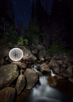 This is awesome night photos. Light paint. Amazing. I love it. It looks magical! 500px / Blog / Photo Tutorial — Paint A Ball Of Light At Night