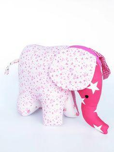 בובת פיל עומד בוורודים | galyafabricdolls Fabric Dolls, Dinosaur Stuffed Animal, Toys, Animals, Rag Dolls, Animales, Animaux, Softies, Animal