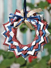 Ornament Sewing Patterns - Starry Night No-Sew Ornament Pattern