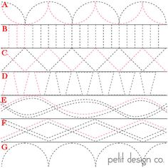 Petit Design Co has done a 31 day series on quilting with a walking foot.........think it is just straight lines? NOPE - she includes curv...