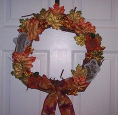 Halloween Gapevine Wreath Instructions
