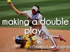 Oh yea!!! although i almost fell on my face bc it was a pop up bunt and i'm third and lost my balance! lol it was funny but I still managed to get the girl out at 1st