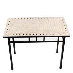 """Mosaiktisch """"Yena"""" als hoher Gartentisch oder auch als Couchtisch erhältlich. www.albena-shop.de"""