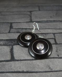 Dřevěné naušnice z grenadillu Drop Earrings, Personalized Items, Jewelry, Fashion, Moda, Jewels, Fashion Styles, Schmuck, Drop Earring