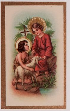 Antique Holy Card Christ Child