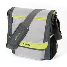 Columbia Timeless Travel Messenger Diaper Bag / Grey