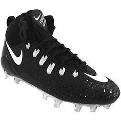 Nike Force Savage Pro Football Cleats - Mens Black White Rogan's Shoes, Mens Football Cleats, Black And White Man, Savage, Nike