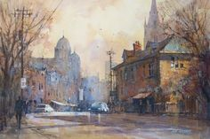 Ian Ramsay, 1948 | Plein Air /Watercolour painter | Tutt'Art@ | Pittura…