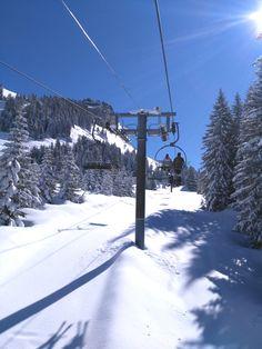 Avoriaz, Haute-Savoie (France) #avoriaz #lesportesdusoleil #sapins #neige #ski #stationdeski #montagne #hautesavoie