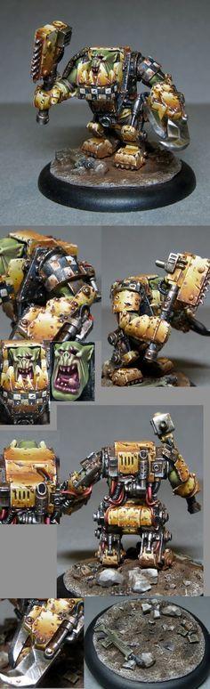 Orks: Mega armor Nob