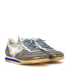 Laterale Sneaker Haus Golden Goose in pelle argento