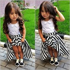 THIS OUTFIT & THIS LIL GIRL ARE BEYOND ADORABLE!!! BEYOND!!! I LOVE ITTT!!! SO CUTE & STYLISH!! X)