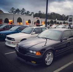 E36 M3 with an E30 M3 - Welcome to VA Beach! - Cars and Coffee!