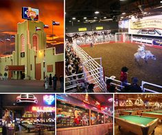 Billy Bob's in Texas. WhT major country star hasn't performed here?!