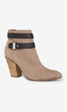 ANKLE STRAP HEELED BOOTIE from EXPRESS.   Love it  im a sucker for shoes gotta have these