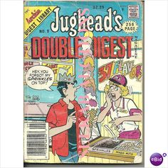 Jughead's Double Digest Magazine Comic #9 November 1991 Archie Digest Library on eBid Canada