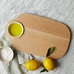 Prep and serve in one with this clever board. How about some crusty bread and olive oil?