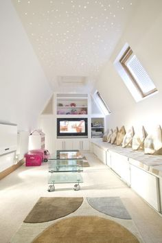 in the attic (or rooms with sloped ceilings) - part 2