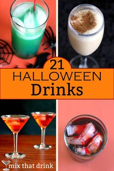 21 Halloween drinks for your spooky night - Mix That Drink