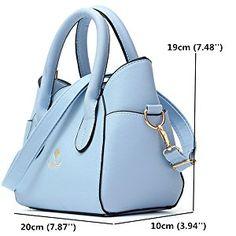 OURBAG Women's Fashion Top Handle Cute Cat Cross Body Shoulder Bag Blue Medium: Handbags: Amazon.com
