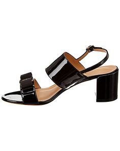 Search Results / Gilt Black 7, Kid Shoes, Black Patent Leather, Smooth Leather, Black Sandals, Tech Accessories, Grosgrain, Salvatore Ferragamo, Product Launch