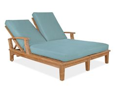 veranda double chaise lounge from Thos. Baker