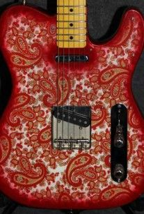 paisley guitar - Google Search