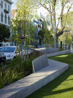 South Park, San Francisco by Fletcher Studio « Landscape Architecture Works | Landezine #streetfurniture #landscapearchitecturepark