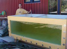DIY plywood aquarium, 581 Gallons