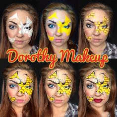 Step by Step Dorothy Wizard of Oz Makeup  So gonna be my bout day makeup!