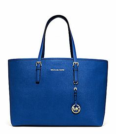 b26996772c6bc0 MICHAEL Michael Kors Jet Set Medium Travel MultiFunction Tote #Dillards  Neiman Marcus, Handbags Michael