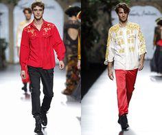 Mercedes-Benz Fashion Week Madrid: Francis Montesinos, primeras propuestas sobre la pasarela