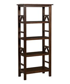 Antique Tobacco Titian Bookcase | zulily
