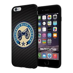 "Columbus Blue Jackets Carbon Fiber Design #1694 iPhone 6 Plus (5.5"") I6+ Case Protection Scratch Proof Soft Case Cover Protector SURIYAN http://www.amazon.com/dp/B00X4JGOFY/ref=cm_sw_r_pi_dp_pwjwvb0TW1NWM"