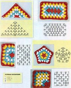 Transcendent Crochet a Solid Granny Square Ideas. Inconceivable Crochet a Solid Granny Square Ideas. Crochet Motifs, Granny Square Crochet Pattern, Crochet Blocks, Crochet Diagram, Crochet Chart, Crochet Squares, Crochet Geek, Crochet Granny, Diy Crochet