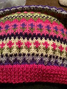 Petite Fleur Fair Isle Cardigan pattern by Audrey Wilson - Strickjacke Muster Baby Knitting Patterns, Knitting For Kids, Crochet Patterns, Knitting Projects, Baby Patterns, Crochet Cardigan Pattern, Granny Square Crochet Pattern, Tejido Fair Isle, Ravelry
