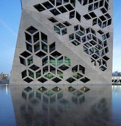 Geometric Architecture Is A Work of Modern Art - Euro Style Home Blog - Modern Lighting - Design