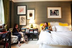 Kate and Andy Spade's Apartment via The Selby