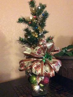 Arreglo de Navidad para mesa