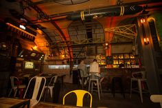 Original Pub Design like a Submarine