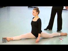 ▶ How To - Intermediate to Advanced Split Exercise with Angela D'Valda Sirico - YouTube