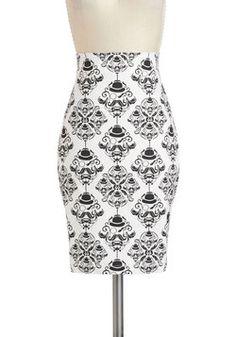 Turn of the Sensory Skirt, #ModCloth